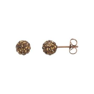 iXXXi Jewelry iXXXi Jewelry  Ear studs Ball - Bruin