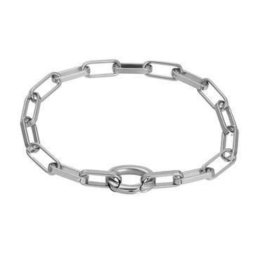 iXXXi Jewelry iXXXi Jewelry Armband Square Chain - Zilverkleurig