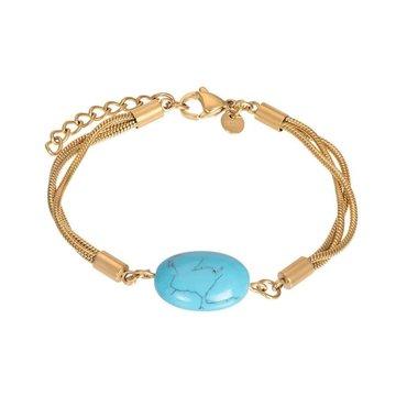 iXXXi Jewelry iXXXi Jewelry Armband Summer - Goudkleurig