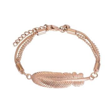 iXXXi Jewelry iXXXi Jewelry Armband Feather - Rosé