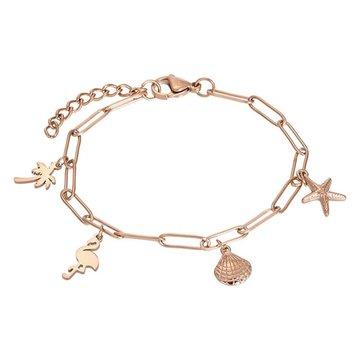 iXXXi Jewelry iXXXi Jewelry Armband met Charms - Rosé