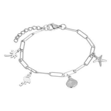 iXXXi Jewelry iXXXi Jewelry Armband met Charms - Zilverkleurig