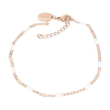 iXXXi Jewelry iXXXi Jewelry Armband Curacao White - Rosé