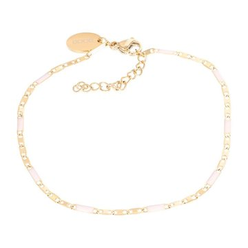 iXXXi Jewelry iXXXi Jewelry Armband Curacao Pink - Goudkleurig
