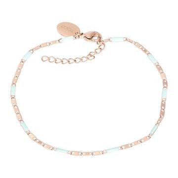 iXXXi Jewelry iXXXi Jewelry Armband Curacao Green - Rosé