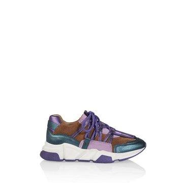 DWRS Label DWRS Label Los Angeles Sneaker Cognac/Lilac