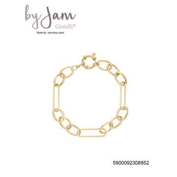 By Jam Gioielli By Jam Armband Chuncky Chain Goudkleurig