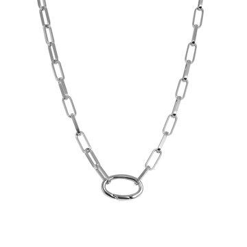 iXXXi Jewelry iXXXi Jewelry Ketting Square Chain - Zilverkleurig