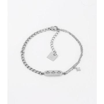 Zag Bijoux Zag Bijoux Lassie Armband Zilverkleurig