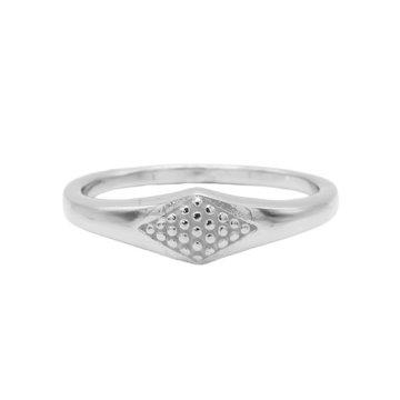 Karma Karma Ring Signet Silver
