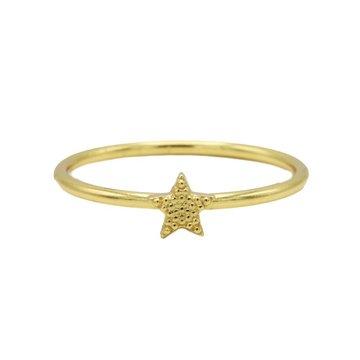 Karma Karma Ring Star Goldplated