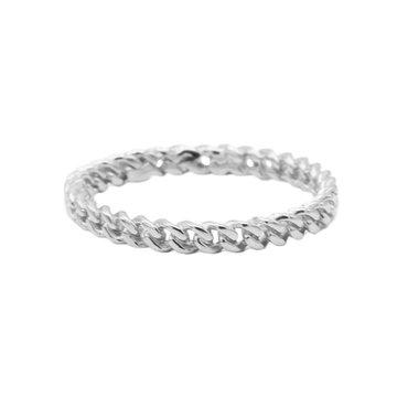 Karma Karma Ring Chain Silver