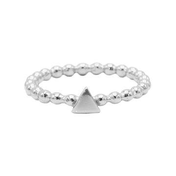 Karma Karma Ring Dots Triangle Silver