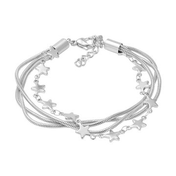 iXXXi Jewelry iXXXi Jewelry Enkelbandje Snake Star Zilverkleurig