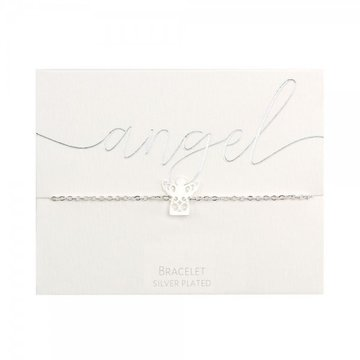 Crystals Crystals Angel Armband Zilverkleurig