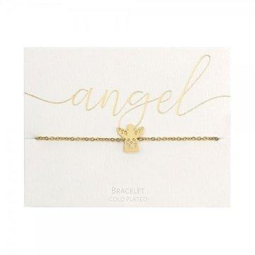 Crystals Crystals Angel Armband Goudkleurig