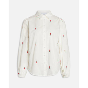 Sisters Point SisterSpoint Blouse Ebbey White / Red Tullip