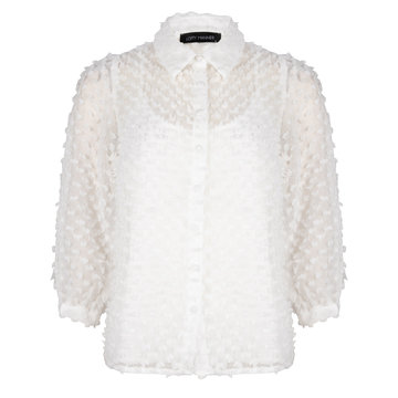 Lofty Manner Lofty Manner Blouse Bowie Off White
