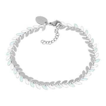 iXXXi Jewelry Armband Malediven Green Zilverkleurig