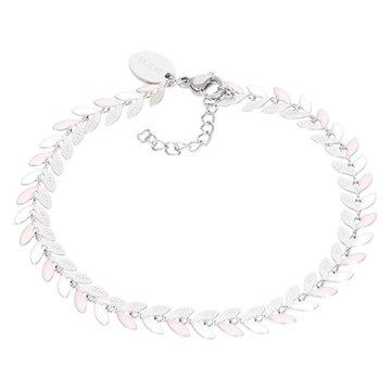 iXXXi Jewelry Armband Malediven Pink Zilverkleurig