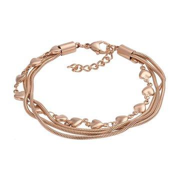 iXXXi Jewelry iXXXi Jewelry Armband Snake Heart Rosé