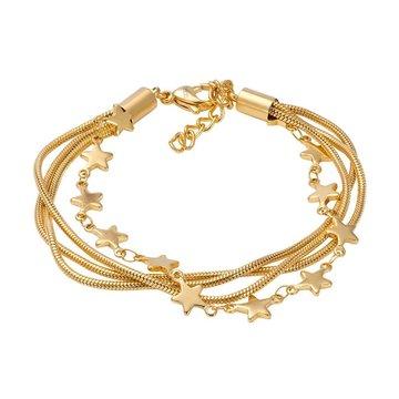 iXXXi Jewelry iXXXi Jewelry Armband Snake Star Goudkleurig