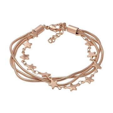 iXXXi Jewelry iXXXi Jewelry Armband Snake Star Rosé