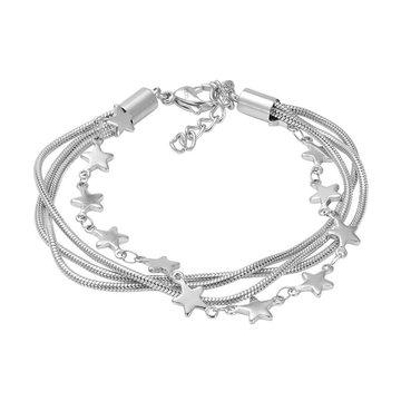 iXXXi Jewelry iXXXi Jewelry Armband Snake Star Zilverkleurig