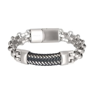 iXXXi Men IXXXI Jewelry Man Bracelet Grenoble Silver