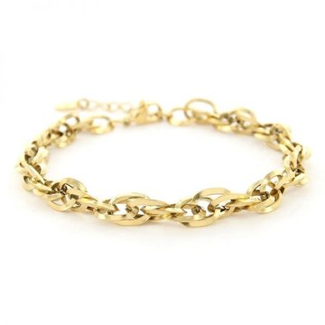 Kalli Kalli Kalli Schakel Armband 2643 Goudkleurig