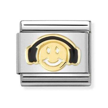 Nomination Nomination 030272-56 Smile With Black Headphones