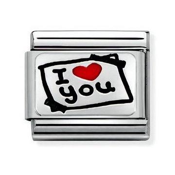 Nomination Nomination 330208-50  I Love You Card