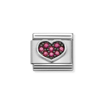 Nomination Nomination 330223-06 Heart Fuchsia