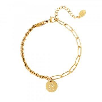 Goodies Goodies Zodiac Armband Sagittarius Goudkleurig