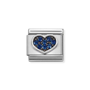 Nomination Nomination 330323-08 Blue Heart