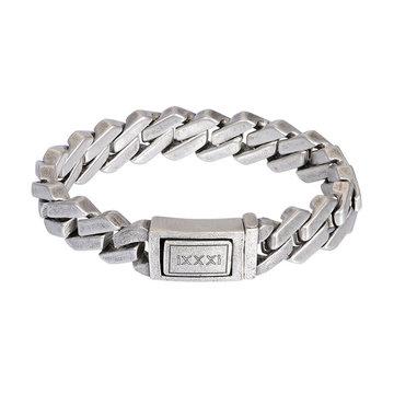 iXXXi Men iXXXi Men Armband Reykjavik Mat Zilver