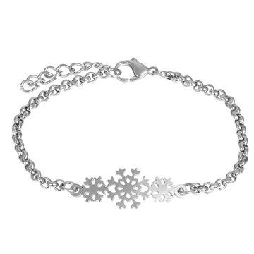 iXXXi Jewelry iXXXi Jewelry Armband Snowflake Zilverkleurig