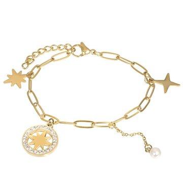 iXXXi Jewelry iXXXi Jewelry Armband Sparkle Goudkleurig