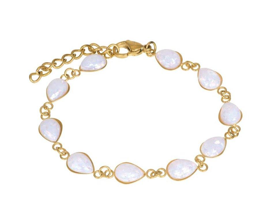 iXXXi Jewelry iXXXi Jewelry Armband Karli Goudkleurig