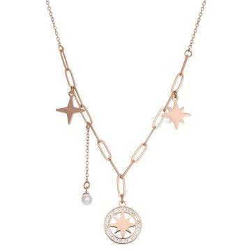 iXXXi Jewelry iXXXi Jewelry Ketting Sparkle Rosé