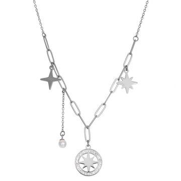 iXXXi Jewelry iXXXi Jewelry Ketting Sparkle Zilverkleurig