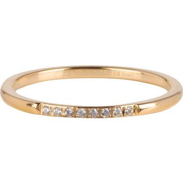 Charmin*s Charmin's Ring R746 Extra Precious Goudkleurig