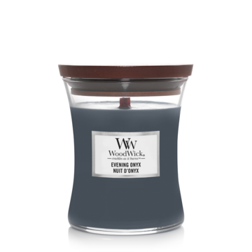 WoodWick WoodWick Evening Onyx Medium Candle