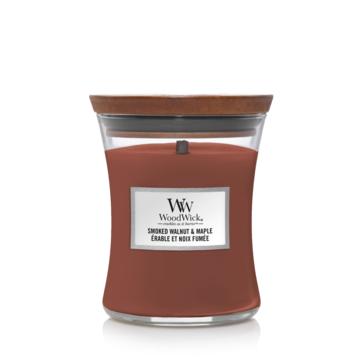 WoodWick WoodWick Smoked Walnut & Maple Medium Candle