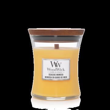 WoodWick WoodWick Seaside Mimosa Medium Candle