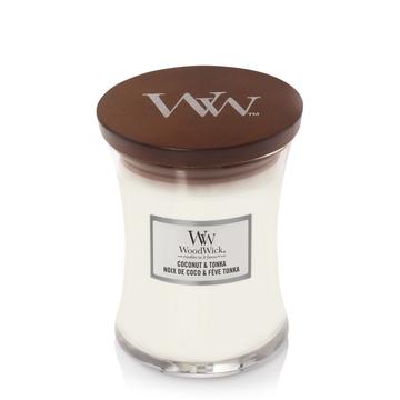 WoodWick WoodWick Medium Candle Coconut & Tonka