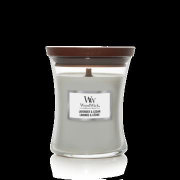 WoodWick WoodWick Medium Candle Lavender & Cedar