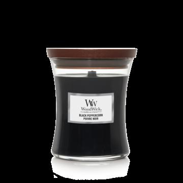 WoodWick WoodWick Medium Candle Black Peppercorn