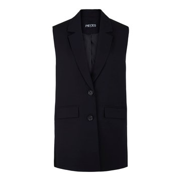 Pieces Pieces PCFlorita Vest Black