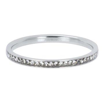 iXXXi Jewelry iXXXi Jewelry Losse Ring Zirconia Crystal Zilverkleurig